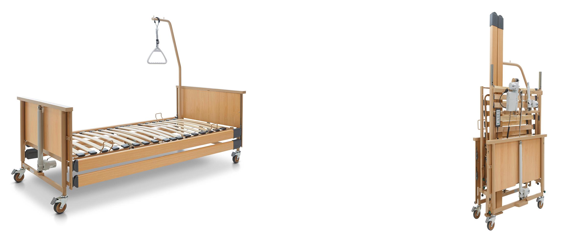 Új és használt elektromos ápolási ágyak raktárról, garanciával!